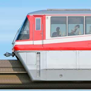 東京モノレール1000形1049編成「500形復刻塗装」(山側)