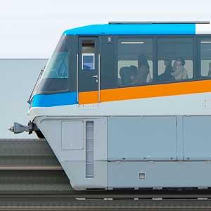 東京モノレール1000形1079編成(2代目塗装・海側)