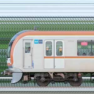 東京メトロ10000系10136編成(和光検車区第76編成/1側)
