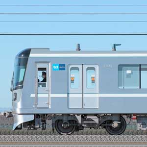 東京メトロ13000系13139編成(千住検車区第89編成/海側)