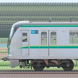 東京メトロ16000系16117編成(綾瀬検車区第57編成/山側)