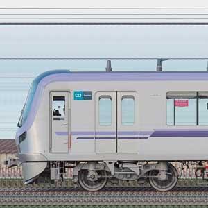 東京メトロ18000系18102編成(鷺沼検車区第62編成/山側)