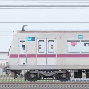 東京メトロ8000系8105編成(鷺沼検車区第05編成/山側)