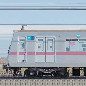 東京メトロ8000系8114編成(鷺沼検車区第14編成/山側)