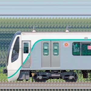 東急2020系2138編成(慣性軌道検測装置搭載・海側)
