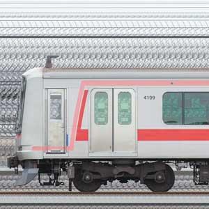 東急5050系4000番台4109編成(山側)