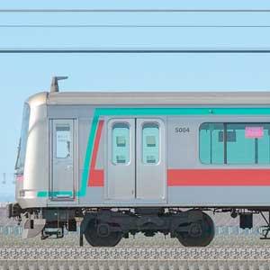 東急5000系5104編成(海側)