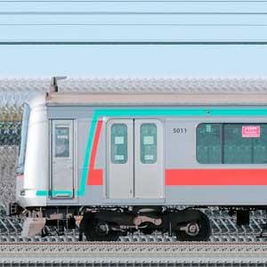 東急5000系5111編成(海側)