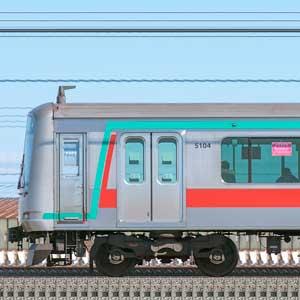 東急5000系5104編成(山側)