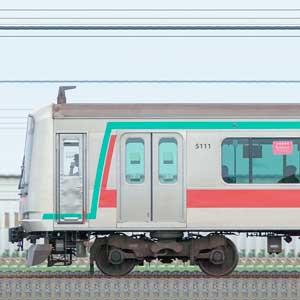 東急5000系5111編成(山側)