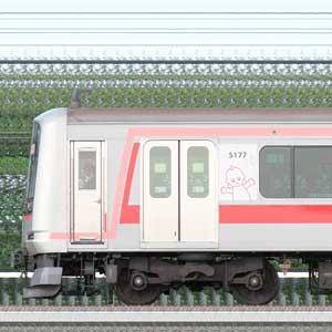 東急5050系5177編成(慣性軌道検測装置搭載・山側)