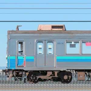 東急8500系8614編成(伊豆急カラー・海側)