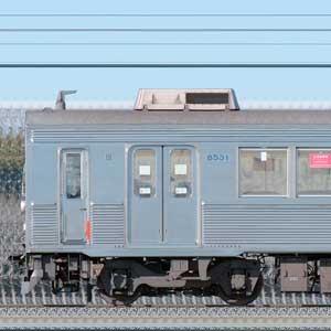 東急8500系8631編成(海側)