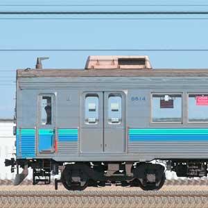 東急8500系8614編成(伊豆急カラー・山側)