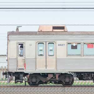 東急8500系8627編成(山側)