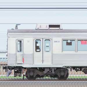 東急8500系8631編成(山側)