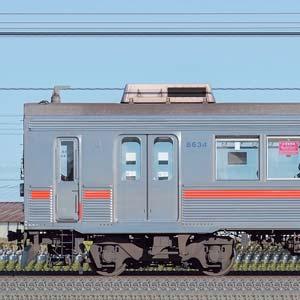 東急8500系8634編成(山側)