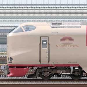 JR西日本285系特急形寝台電車