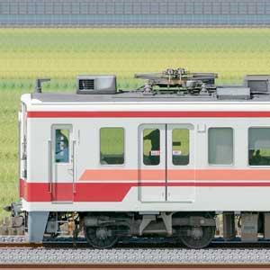 野岩6050系61102編成+東武6050型6164編成(海側)